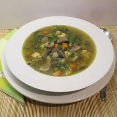 Zöldségekkel, nokedlival készítve akár egytál ételként is megfelel. A 17, Soup, Ethnic Recipes, Soups