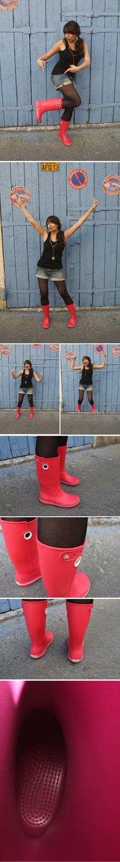 Love my crocs rain boots!