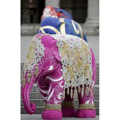 The London Elephant Parade in pictures: 260 elephant sculptures dotted around the city