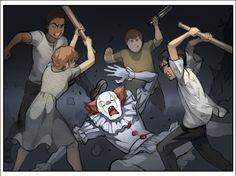 Here's the Weirdest Pennywise Fan Art We Could Find (Without Gaping Genitals) - Dorkly Post Cute Couple Comics, Couples Comics, Ordinary World Green Day, Saga, It The Clown Movie, Im A Loser, Bad Friends, Stranger Things Funny, The Best Films