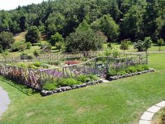 large garden designs - vegetable garden fence ideas and designs580 x 435 135 kb jpeg | Download. large garden ...