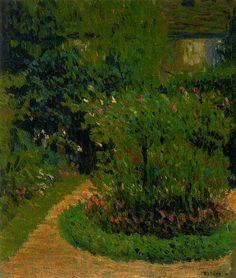 Leger, Fernand (1881-1955) - 1905 My Mothers Garden (Fernand Leger National Museum, Biot, France) | Flickr - Photo Sharing!