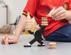 Kikkerland Design Inc » Products » Website. Not necessarily this item  Stacking Game Dont Tip The Waiter