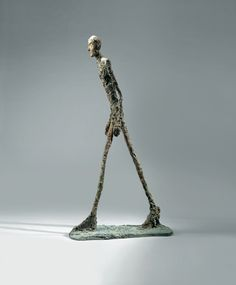 Alberto Giacometti It reminds me of Nyamwezi walking stick, from Tanzania