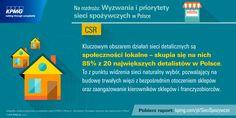 Kluczowym obszarem działań sieci detalicznych są społeczności lokalne - skupia się na nich 85% z 20 największych detalistów w Polsce. #KPMG #CSR #siecidetaliczne #franczyza