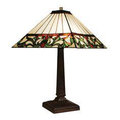 Z-Lite Viola Chestnut Bronze 1 Light Table Lamp Z14-8-8TL