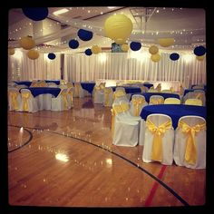 800x800 1418874769027 cultural hall lds wedding reception blue gold in c