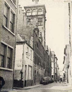 Korte Sint-Annastraat, Hotel van Straelen, Antwerpen 1936.