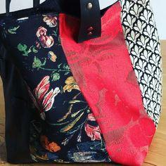 Shopper Bag, Tote Bag, Gypsy Bag, Fabric Bags, Purses And Bags, Women's Bags, Handmade Bags, Diy Design, Bag Accessories