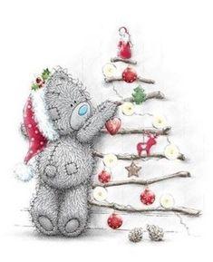 """Képtalálat a következőre: """"tatty teddy christmas"""" Christmas Card Crafts, Christmas Drawing, Christmas Clipart, Christmas Tag, Vintage Christmas, Christmas Stickers, Tatty Teddy, Teddy Bear Pictures, Bear Graphic"""