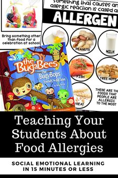 The Bugybops Friends for All Time - Teach your students all about food allergies - social emotional learning and character education in the elementary classroom. Perfect for morning meetings, community building, and classroom community! Psychology Questions, Colleges For Psychology, Psychology Student, Kindness For Kids, Books About Kindness, Growth Mindset For Kids, Character Education Lessons, Skills To Learn, Learning Skills