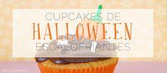Cupcakes de Halloween escalofriantes :: annavalero.com #halloween #cupcakes #postres #dessert