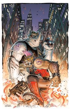 Bebop & Rocksteady - Dustin Weaver