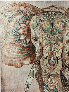 heine home picture Buddha, An eye catcher for your walls OTTO - heine home picture elephant, studded with numerous metal rivets online OTTO - Elephant Wallpaper, Elephant Artwork, Elephant Love, Buddha Elephant, Indian Elephant, Elephant Pictures, Mandala Wallpaper, Mandala Artwork, Home Bild