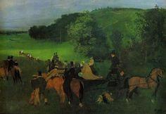 On the Racecourse - circa 1860-1862 - Kunstmuseum Basel (Switzerland)
