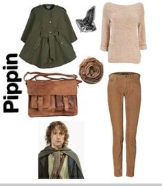 lord of the rings inspired outfit ~ pippin