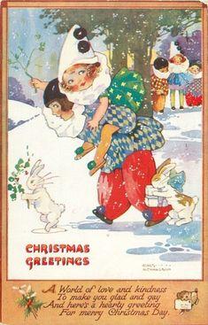 Artist: Agnes Richardson Christmas Greetings