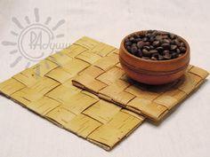 Плетем салфетку из бересты - Ярмарка Мастеров - ручная работа, handmade
