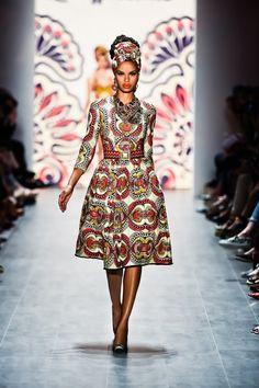 African Prints in Fashion: Lena Hoschek: Austria's answer to Stella Jean?