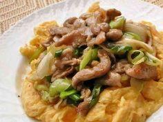 ふんわり卵と豚肉の中華オイスター炒めの画像