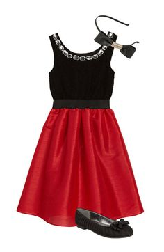 (my kid would never wear nor have the occasion to wear this) Holiday or Christmas dress for little ones #nordstrom #kids