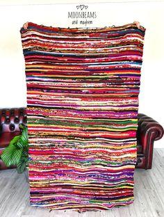 ✧✼✧ Delicious Bohemian 'Rag Rug' with delightful velvet feel :https://www.ebay.co.uk/itm/FABULOUS-NEW-FLOOR-RAG-RUG-HIPPIE-CARPET-WALL-HANGING-BOHEMIAN-THROW-BOHO-HOME-/122742864999