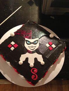 Harley Quinn cake #confectionsbynadine