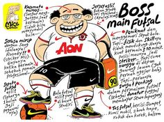 Mice Cartoon, Boss Main Futsal