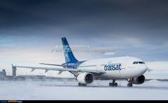 Airbus A310-304 Air Transat, Air Lines, Commercial Aircraft, Civil Aviation, Spacecraft, Canada, Medium, Classic, Net Shopping