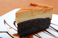 Receta de Chocoflan sin horno / Pastel de chocolate / ChocoFlan