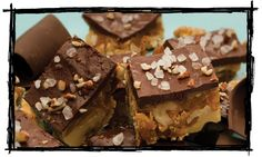 Dark chocolate, sea salt and walnut toffee?..Yes, please!  One of our new A Christmas Affair 2013 vendors, Two Girls Toffery.