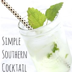 A Daytime Date and a Simple Southern Cocktail www.simplestylings.com