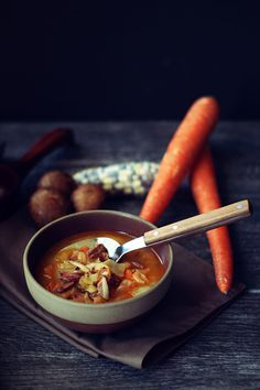 The Lord of the Rings: Farmer Maggot's Cabbage and Sausage Soup Recipe