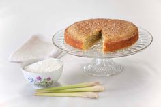 Lemongrass coconut cake: http://gustotv.com/recipes/dessert/lemongrass-coconut-cake/