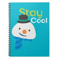 Chilly- Stay Cool Spiral Notebook