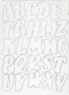 risco de alfabeto