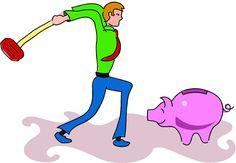 z- Breaking Piggy Bank
