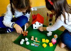 """Diese Mädchen an einer Dt. Schule in Brasilien haben Spaß mit """"Komm mit ins Zahlenland"""" - und lernen die Zweitsprache viel leichter. Eyfs, Montessori, Kindergarten, Nursery, Brazil, Studying, School, Baby Room, Kindergartens"""