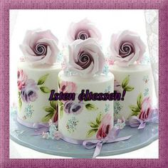 Mothers Day Cupcakes, Mothers Day Cake, Great Mothers Day Gifts, Mother Day Gifts, Happy Cake Day, Sugar Rose, Beautiful Cupcakes, China Tea Sets, Cake Central