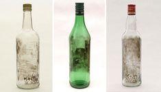 Les bouteilles peintes à la fumée de Jim Dingilian  2Tout2Rien