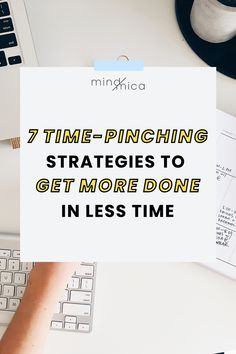 Learn about why giving yourself less time is the best way to get things done. Plus see 7 actionable strategies to get started. Time Management Tips, Project Management, Office Hacks, How To Remove, How To Get, Productivity Hacks, Passion Project, Getting Things Done, Have Time