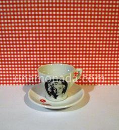 Taza de té con Plato - Marilyn Monroe