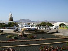 Teguise Lanzarote. Before This town was the capital in Lanzarote. Nowadays there is a big marked every sunday.