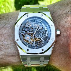 WOW! Audemars Piguet Royal Oak Skeleton