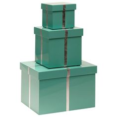 Bungalow 5 Chiffany Blue Rectangle Nesting Box Set @Layla Grayce