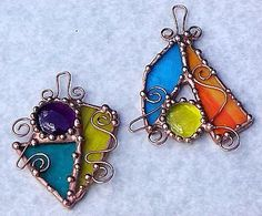 Untitled Charms 4 - by Dianne McGhee from Glass Art Cold Art Gallery