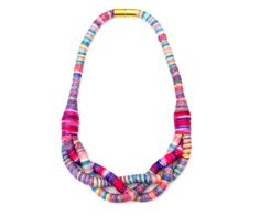 Hey, I found this really awesome Etsy listing at https://www.etsy.com/listing/255591429/colorful-textile-necklace-braided