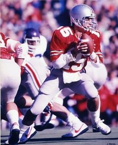 Mike Tomczak had a nice career with the Buckeyes, but his senior season is what ranks him among the best quarterbacks in school history.   In 1984, he was 145-of-244 (59.4 percent) passing for 1,952 yards. At the time, three-of-four marks were the second-highest single-season totals at Ohio State, with the completion percentage setting a new record.   The three-year starter led OSU to an outright Big Ten title and an appearance in the Rose Bowl.