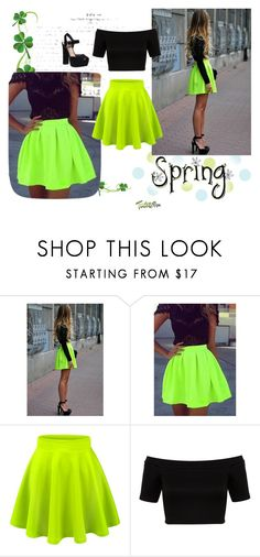 """""""Spring"""" by selma-sejmenovic ❤ liked on Polyvore featuring Miss Selfridge and Steve Madden"""