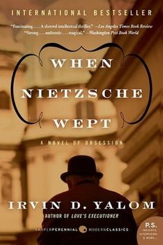 """""""When Nietzsche Wept"""" by Irvin Yalom, so hard, so complex and you think: this is the most, it can not be any better than this Books To Read, My Books, Be My Hero, Great Philosophers, Thing 1, Socrates, Founding Fathers, Great Books, Bestselling Author"""